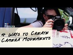 4 Quick Ways to Create Smooth Camera Movement Camera Movements, You Videos, Video Editing, Videography, Smooth, Things To Sell, Create, Seo, Youtube