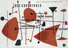 Jazz Posters by Günther Kieser