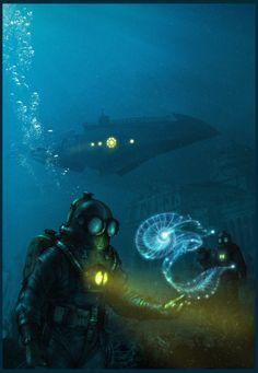 _Nautilus_ poster art by Meinert Hansen #nautilus