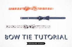 Happy <3 Bow Tie Tutorial