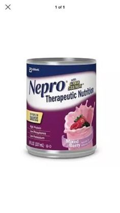 Energy Bars Shakes and Drinks: Nepro Ready-To-Drink Mixed Berry With Carb Steady 8Oz Can-Case Of 24 *New Deal* -> BUY IT NOW ONLY: $74.5 on eBay!
