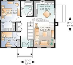 tiny home plan