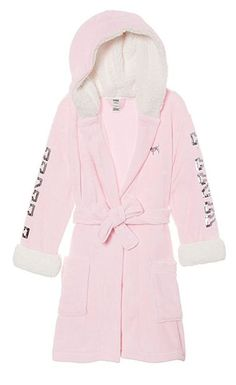 Victoria& Secret Pink Hooded Sherpa Lined Cozy Soft Plush Bling Robe M / L Victoria Secret Outfits, Victoria Secrets, Pijamas Victoria Secret, Victoria Secret Clothing, Victorias Secret Clothes, Pink Outfits, Cute Outfits, Fashion Outfits, Womens Fashion
