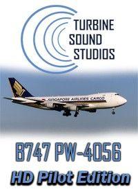 TSS : Boeing 747 PW-4056 Pilot Edition - FSX/P3D Turbine Sound