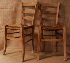 Sedie venezia in legno, con seduta in paglia (disponibile anche con ...