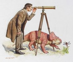 James Gurney - Dinotopia. O my goodness i remember reading this book!