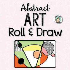 Do you want to teach abstract art, but are not sure where to begin? With the roll of the dice, your students will have the inspiration to create unique abstract masterpieces! This versatile set of roll & draw pages can be used a number of ways and can fit into both traditional art classrooms and choice based, or s
