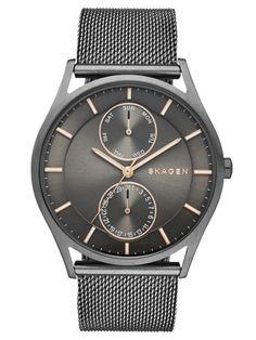 SKAGEN HOLST | SKW6180 Stainless Steel Mesh, Mesh Bracelet, Bracelet Watch, Bracelets, Skagen Watches, Men's Watches, Jewelry Watches, Mens Watches For Sale, Watch Sale