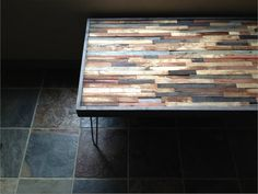 Barnwood Coffee Table - Industrial - Mid-century - Modern - Contemporary…