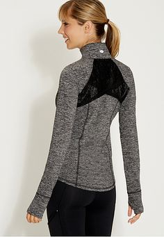 spacedye performance jacket with lace - maurices.com