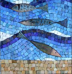 Enamel Fish (Detail) - Enamels, Mexican Smalti,