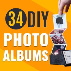 Learn how to turn photos into a creative DIY gift idea for Christmas, birthday or other special occasion. Best DIY photo album ideas for photos from Instagram, your camera rolls or messy binder full of unsorted photos. Create a unique display to showcase special photographs and place your artsy book on the coffee table to show off your pics. #diygifts #photoalbums #diyideas #photos Christmas Birthday, Diy Christmas Gifts, Creative Video, Easy Diy Crafts, Cool Diy Projects, Diy Photo, Diy Wall Decor, Photographs, Photos