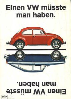 Volkswagen-Werbung von 1966