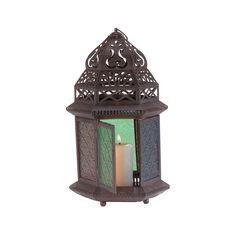 Large Glass Candle Lantern