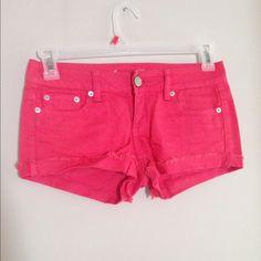Bright pink shorts Fun bright pink American Eagle shorts American Eagle Outfitters Shorts