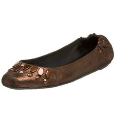 Report Womens Carrie Ballerina FlatBronze65 M US *** Click on the affiliate link Amazon.com on image for additional details.
