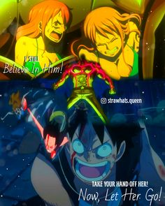 One Piece World, One Piece Luffy, Filles Equestria, Luffy X Nami, Let Her Go, One Piece Fanart, Anime Naruto, Stand Up, Fan Art