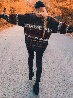 Coffee Christmas Pattern Batwing Sweater – Jassie Line Winter Outfits, Casual Outfits, Cute Outfits, Fashion Outfits, Christmas Outfits, Casual Shirt, Rock Outfits, Emo Outfits, Punk Fashion