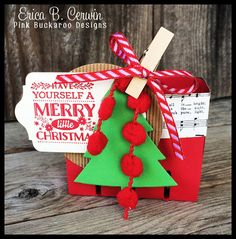 Mini Bigz Berry Basket featuring Cozy Christmas by Erica Cerwin- Includes video tutorial!