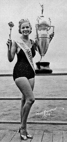 Miss America 1938 Marilyn Meseke. Just found out this is a coworkers mom