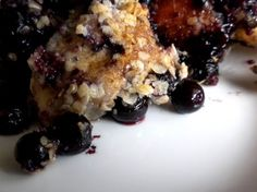 blueberry monkey bread:  biscuits from a can never tasted so good!