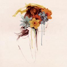 Couronne de fleurs 2