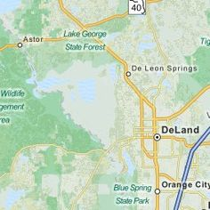 deland florida mapquest