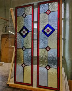 Stained glass windows   Light Leaded Designs   Rossendale Victorian Stained Glass Panels, Modern Stained Glass, Stained Glass Door, Making Stained Glass, Stained Glass Projects, Window Maker, Selling Crafts Online, Door Accessories, Glass Design