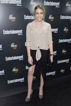 """Carly Chaikin (""""Suburgatory"""") attends the Entertainment Weekly and ABC Upfront VIP Party at Dream Downtown on May 15, 2012 in New York City."""