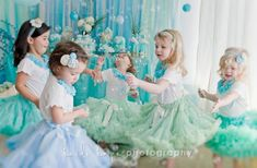 Party blog post. Would be great to have a bubble machine at a mermaid party. The Party Wagon - Blog - UNDER THE SEA~ MERMAID PARTY