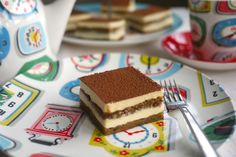 Miniature tiramisu cakes