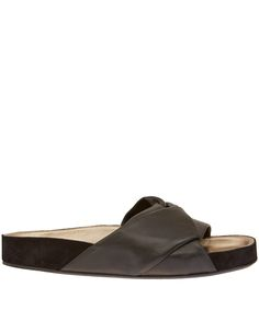 Black Boop Twist Leather Sandals, Isabel Marant