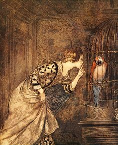 The Ballad of May Colven by Arthur Rackham