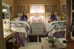 Dorm room at Ole Miss