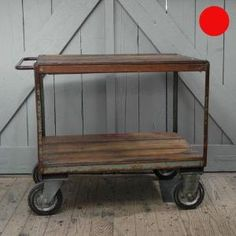 Industrial Trolley by loralou