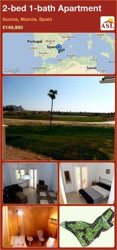 2-bed 1-bath Apartment in Sucina, Murcia, Spain ►€149,950 #PropertyForSaleInSpain
