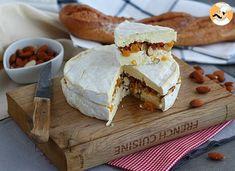 Queijo Brie recheado (damasco e amêndoas), Receita Petitchef