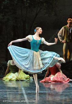 Svetlana Zakharova and Friedemann Vogel in Giselle