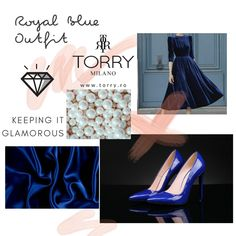 The prestige of our label is our signature that glorifies our name. Indulge yourself with TORRY the ageless beauty of fashion, for treasured memories! Blue High Heels, High Shoes, Royal Blue Outfits, Royal Clothing, Ageless Beauty, Stiletto Shoes, Classy Women, Electric Blue, Night Out