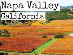 Great insider tips on the Napa Valley on our blog: http://www.ytravelblog.com/napa-valley-california/