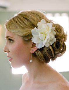 Hair with Gardenia