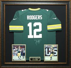 Jersey frames gale sayers chelsea pinterest men cave walls for yourself or as a gift buy this framed aaron rodgers jersey authentically autographed by the legend himself signed jersey is framed with photographs solutioingenieria Images