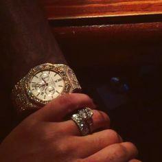 Lira Mercer Galore's engagement ring from Rapper/Entrepreneur Rick Ross