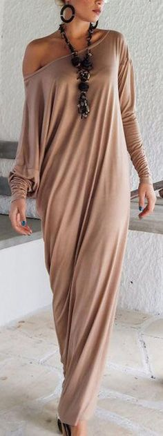 Cupshe Shrug It Off Long Dress
