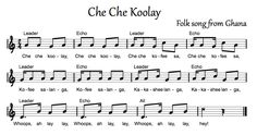 Beth's Music Notes: Che Che Koolay - Africa