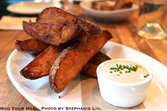 Duck Fat Fries with Malted Spiced Yogurt at Northern Spy Food Co.