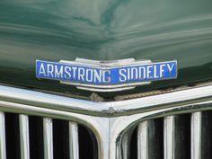 Armstrong Siddeley radiator grill badge