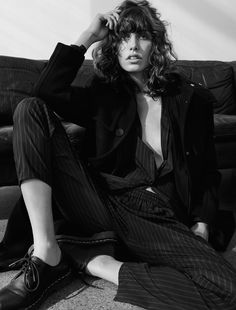 lorelle rayner by hasse nielsen for cover october 2015 | visual optimism; fashion editorials, shows, campaigns & more!