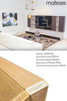 Los decorativos en un living pueden marcar el estilo; en esta experiencia Matisses las líneas simples y los tonos claros definen una decoración contemporánea.