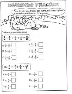 Atividades Infantis com Frações         Atividades Infantis com Frações        Atividades Infantis com Frações         Atividades In...